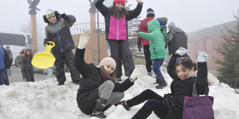 Kartepe'de kayak umudu sömestir tatiline kaldı