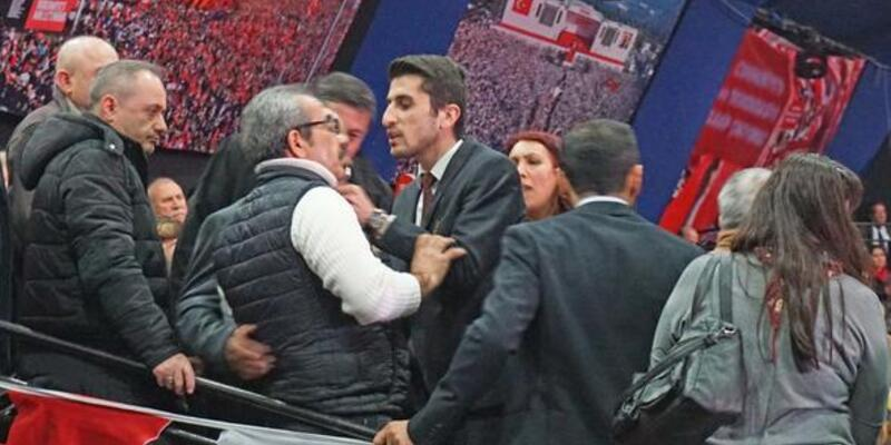 CHP kongresinde gerginlik