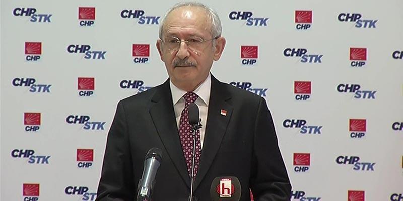 Kılıçdaroğlu OHAL forumunda konuştu: 'Suçluyu yargı değil, siyasi otorite belirliyor'
