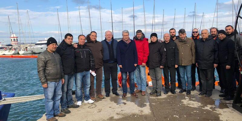 Urla'da denizdeki kirlilik büyük oranda temizlendi