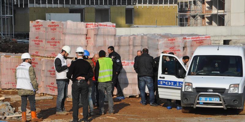 İnşatta 16'ncı kattan düşen işçi öldü