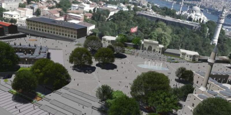 İBB açıkladı... İşte Beyazıt Meydanı'ndaki çalışmaların detayları