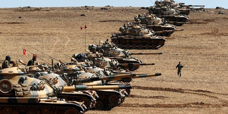 Suriye sınırında top sesleri