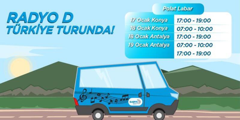 Radyo D, canlı yayın aracıyla Türkiye turuna devam ediyor!