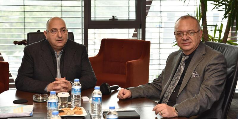 Manisa Büyükşehir ve OSB, ortak projeleri görüştü