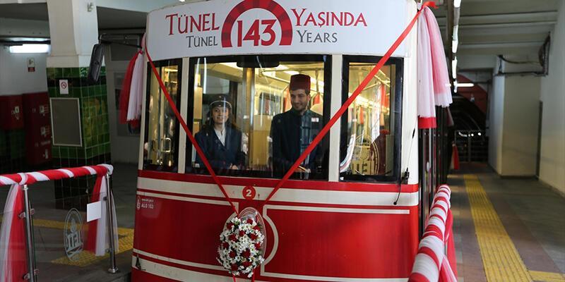 Dünyanın ikinci eski metrosu Karaköy Tüneli 143 yaşında