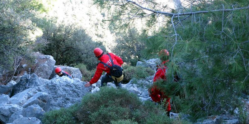 Milas'ta kayıp çoban için arama kurtarma çalışması başlatıldı