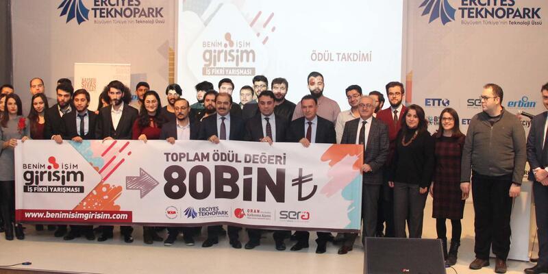Erciyes Teknopark ve ORAN İşbirliğiyle 10 girişimciye 80 bin TL'lik ödül