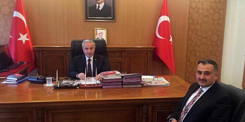 Develi Belediye başkanı Cabbar, Vali'yi ziyaret etti