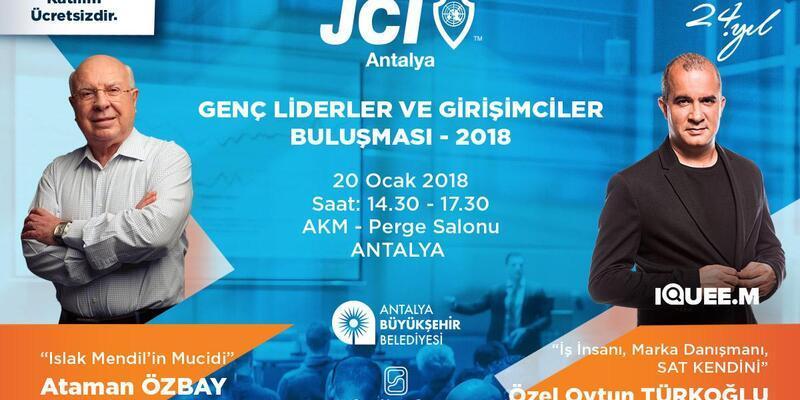 Gençler Liderler mucitleri Antalya'ya getiriyor