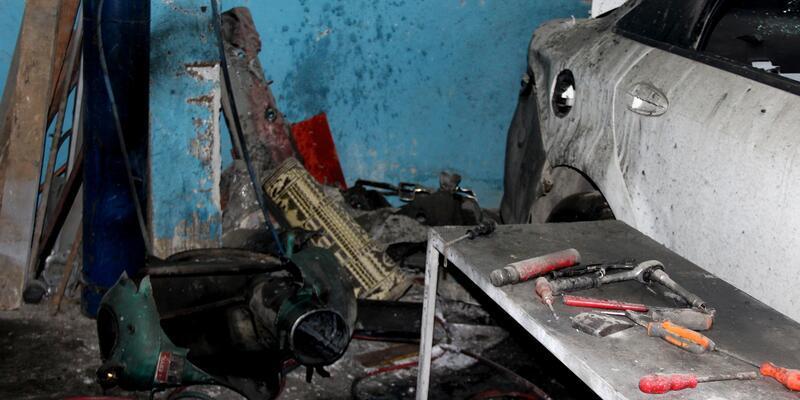 Hatay'da sanayi sitesinde patlama