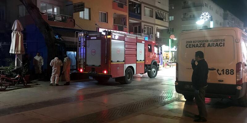 İzmir'de yaşlı kadın evinde ölü bulundu