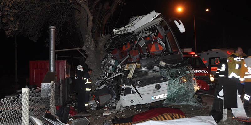 Eskişehir'deki katliam gibi kazada otobüs şoförünün ilk ifadesi