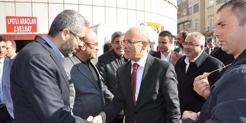 Başbakan Yardımcısı Şimşek Nizip'te