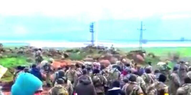 Afrin'e 'Zeytin Dalı Harekatı' sürüyor, tanklar Suriye'ye girdi (13)