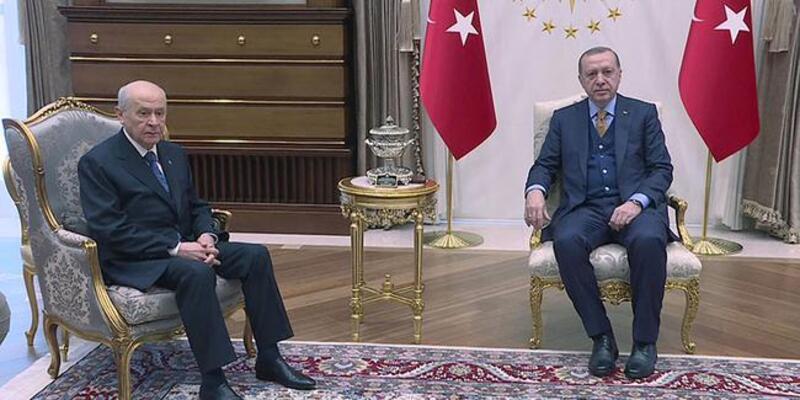 Son dakika... Erdoğan ve Bahçeli'den sürpriz görüşme