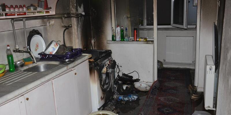 Ankara'da yangın: 1 ölü