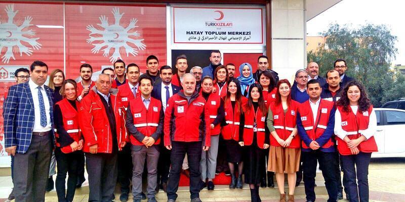 Kızılay Hatay Toplum Merkezi hizmete açıldı