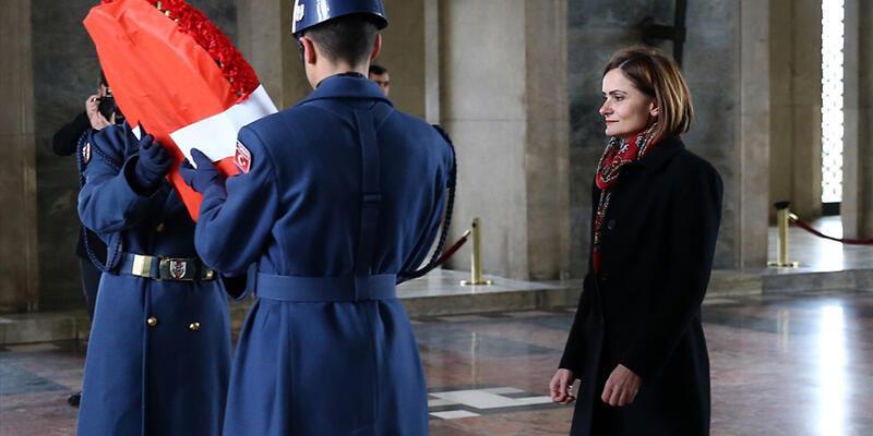 CHP'li kadın başkanlardan Anıtkabir'e ziyaret
