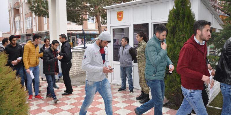 Yozgat'ta, Afrin harekâtına katılmak için dilekçe verdiler