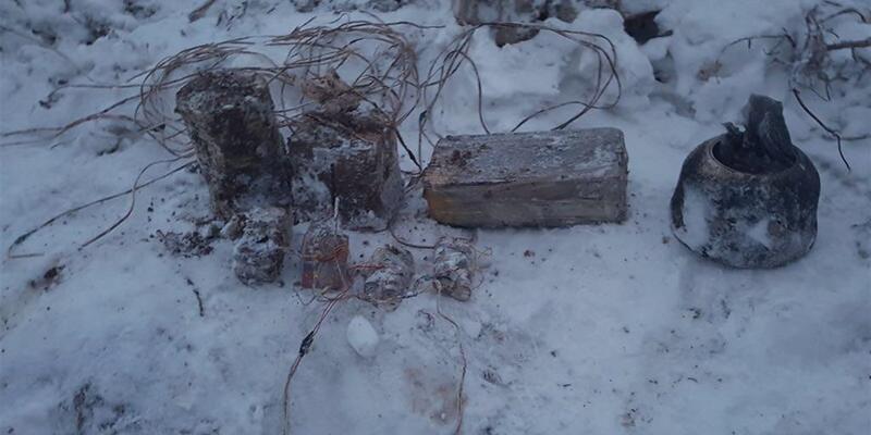 PKK'lıların tuzakladığı el yapımı patlayıcılar imha edildi