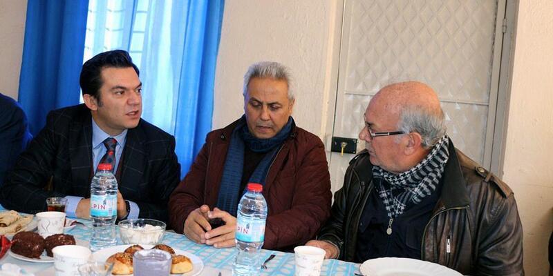 Kaymakam Gökbez'de vatandaşla buluştu