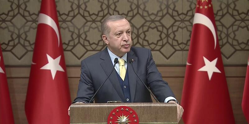 """Son dakika... Erdoğan operasyonun adının neden """"Zeytin Dalı"""" olduğunu açıkladı"""