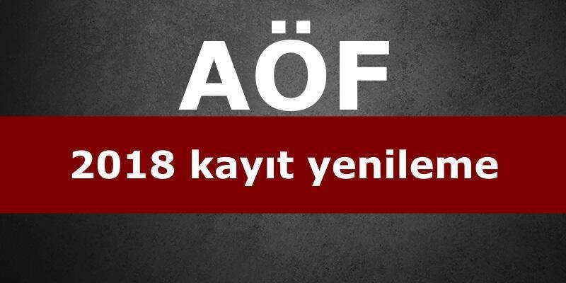 AÖF kayıt yenileme işlemleri: Anadolu Üniversitesi duyuru yaptı