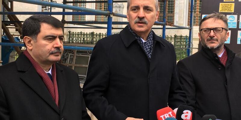 Numan Kurtulmuş'tan Afrin açıklaması