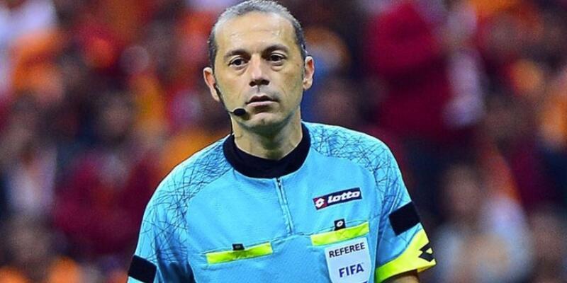 Son dakika: Şampiyonlar Ligi'ndeki dev maç Cüneyt Çakır'ın