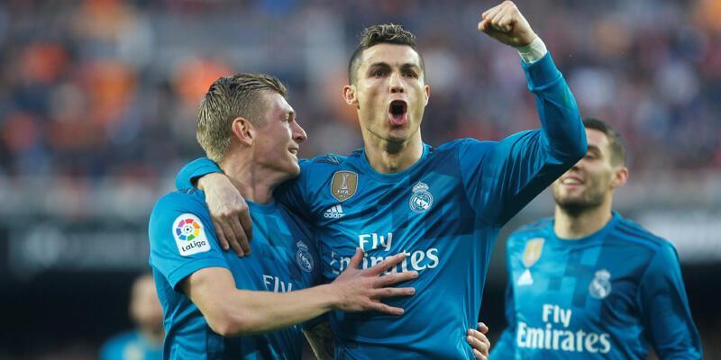 Real Madrid deplasmanda kazandı