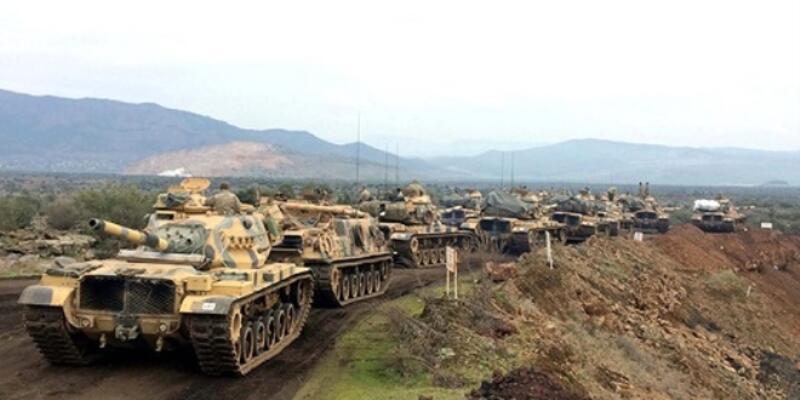 Bordo Bereliler ve dağ komando birlikleri Burseya Dağı'nda