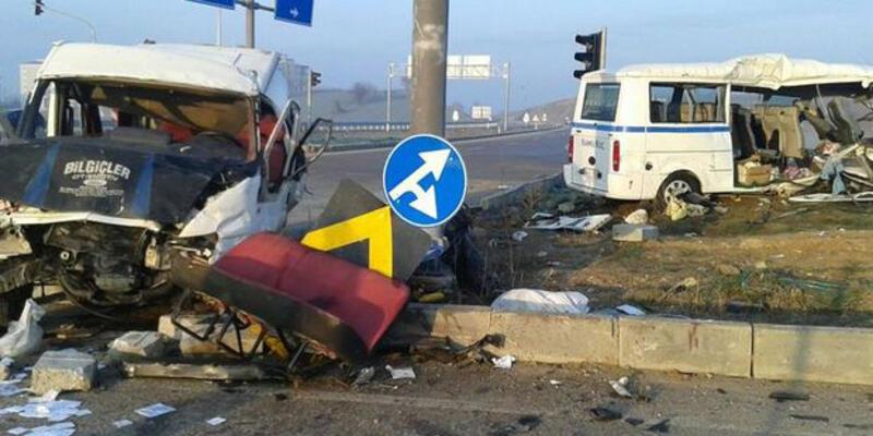 Son dakika... Bursa'da korkutan kaza
