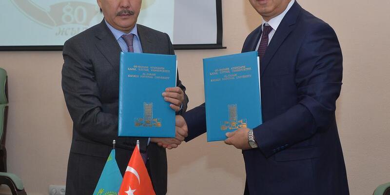 Kazakistan'da 3 üniversite ile işbirliği