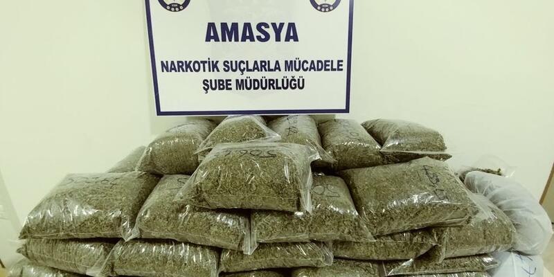 21 kilo uyuşturucuya 2 gözaltı