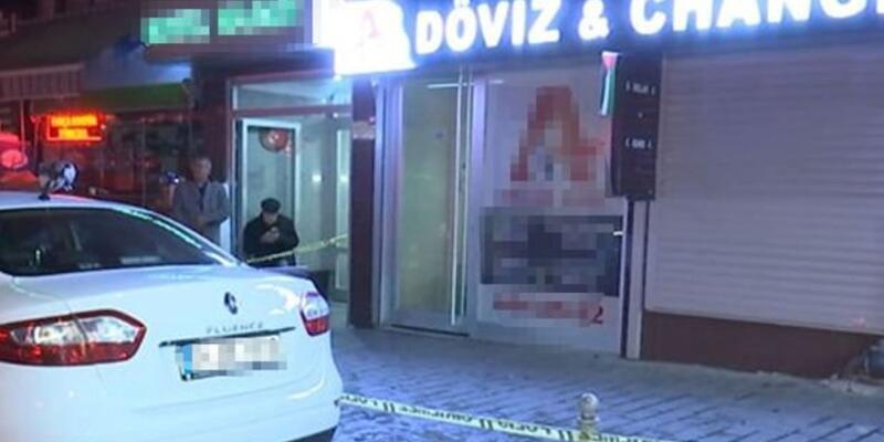 Döviz bürosunu önce hırsızlar soydu, kalanını ise inceleme polisi çaldı