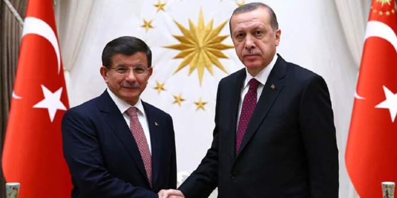 Son dakika... Cumhurbaşkanı Erdoğan'la Davutoğlu görüştü