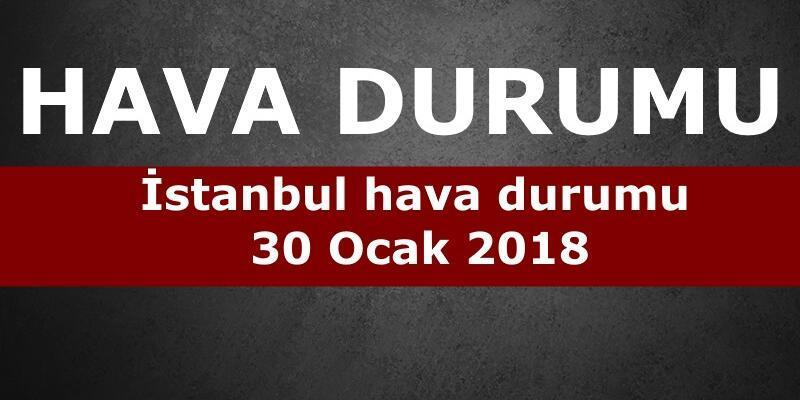 31 Ocak İstanbul hava durumu: Meteoroloji'den 5 günlük tahmin verileri