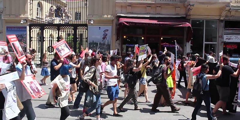 Adana'da toplantı ve gösterilere 'Zeytin Dalı' ayarı