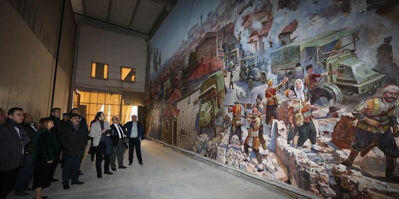 Panorama Müzesinde inceleme