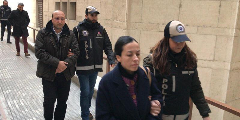FETÖ'den gözaltına alınan özel okul sahibi ve müdürü adliyeye sevkedildi