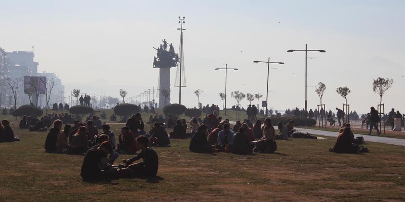 İzmir'de güzel hava keyfi