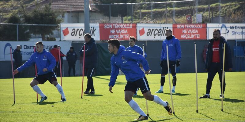 Trabzonspor Göztepe maçına 5 eksikle hazırlandı