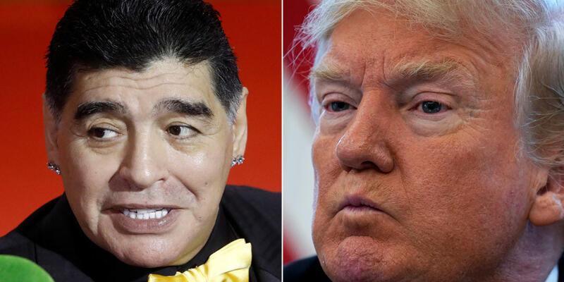 """""""Trump Maradona'nın ABD'ye girişine engel oldu!"""""""
