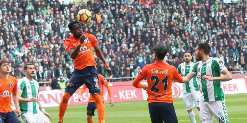 Konyaspor 1-1 Başakşehir / Maç Özeti
