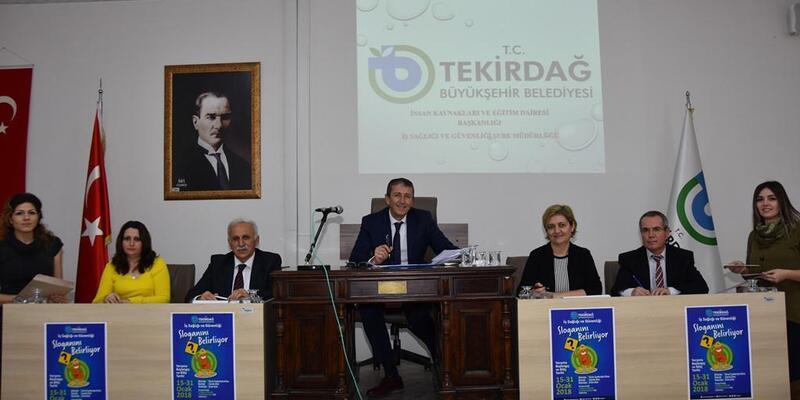 Büyükşehir belediyesi iş sağlığı ve güvenliği sloganını belirlemeye başladı