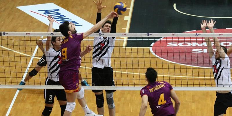 Voleybol Efeler Ligi: Beşiktaş: 1 - Galatasaray HDI Sigorta: 3