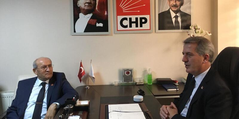 Gazilerden CHP İl Başkanı Şener'e ziyaret