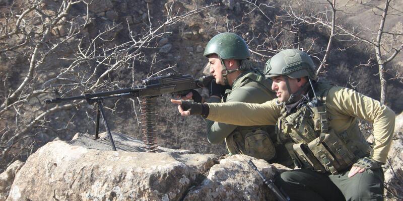 Van'da PKK'nın kış üstlenmesine operasyon (2)