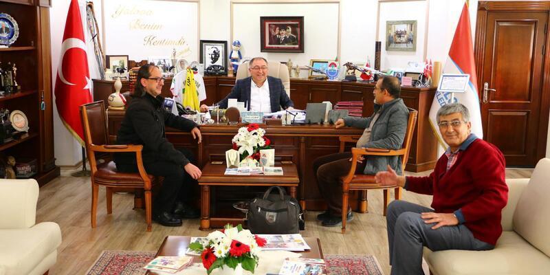 ADD'nin yeni başkanı Erdoğan'dan Başkan Salman'a ziyaret